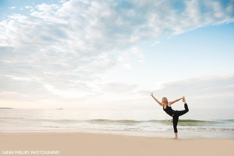 Sunrise Yoga at Singing Beach | Sarah Phillips Photography