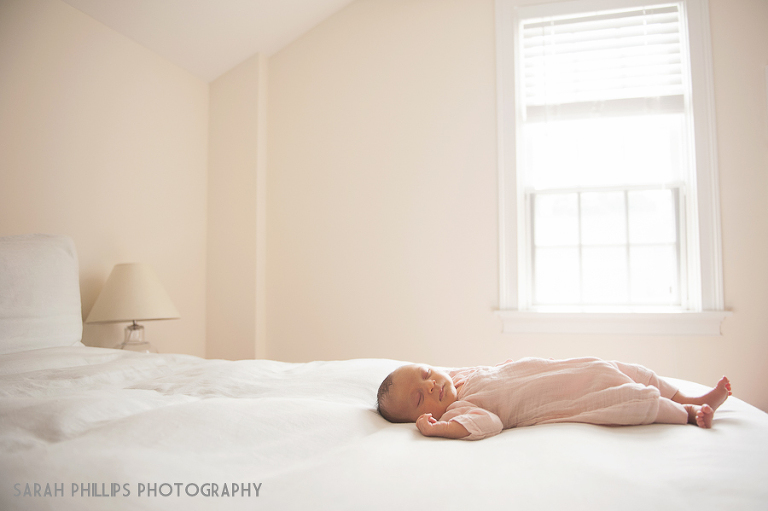 Boston Lifestyle Newborn Portraits